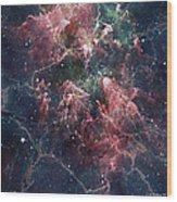 Cosmic Soup Wood Print