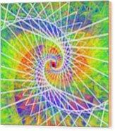 Cosmic Spiral Ascension 03 Wood Print