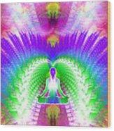 Cosmic Spiral Ascension 13 Wood Print