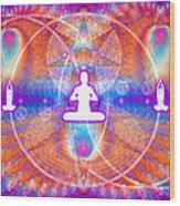 Cosmic Spiral Ascension 15 Wood Print