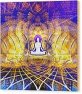 Cosmic Spiral Ascension 18 Wood Print