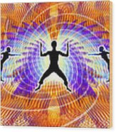 Cosmic Spiral Ascension 19 Wood Print