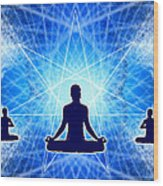 Cosmic Spiral Ascension 22 Wood Print