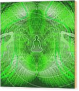 Cosmic Spiral Ascension 24 Wood Print