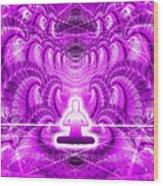 Cosmic Spiral Ascension 29 Wood Print