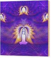 Cosmic Spiral Ascension 31 Wood Print