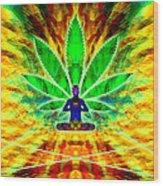Cosmic Spiral Ascension 34 Wood Print