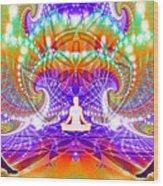 Cosmic Spiral Ascension 60 Wood Print