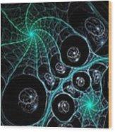 Cosmic Web Wood Print