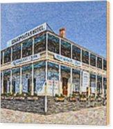 Cosmopolitan Hotel Old Town San Diego Usa Wood Print