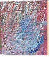 Cosmos Wood Print by Lisa Kramer
