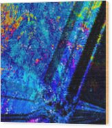 Cosmos Of Colour Wood Print