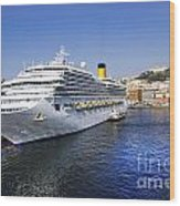 Costa Cruise Ship Wood Print