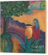 Costa Mango II Wood Print