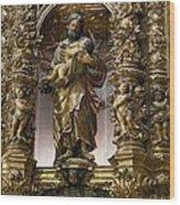 Costa, Pablo 1672-1728. Main Altarpiece Wood Print