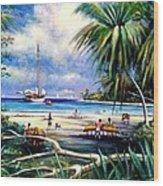 Costa Rica Sailing Wood Print