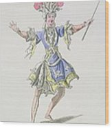 Costume Design For The Magician Wood Print