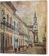 Cotacachi Morning Wood Print