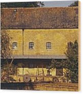 Cotswold Cottage Wood Print