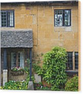 Cotswolds Cottage Wood Print