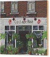 Cottage Rose Wood Print