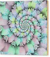 Cotton Candy I Wood Print