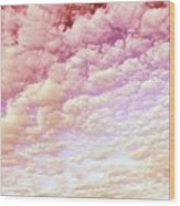 Cotton Candy Sky Wood Print