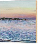 Cotton Candy Waters Wood Print