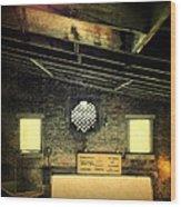 Cotton Exchange Wood Print