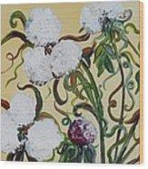 Cotton Squared Wood Print