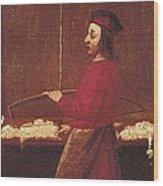 Cotton Weaver, 17th C. Early Modern Wood Print