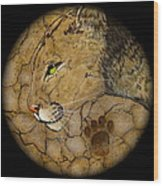 Cougar Wood Print by Ethan  Foxx