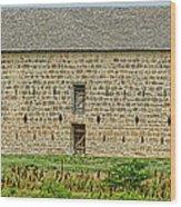 Council Grove Kansas Stone Barn Wood Print