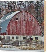 Country Barn 3 Wood Print