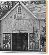 Country - Barn Country Maintenance Wood Print