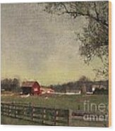 Country Collections Two Wood Print