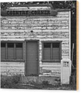 Country Corner Wood Print by David Lee Thompson