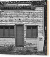 Country Corner Wood Print