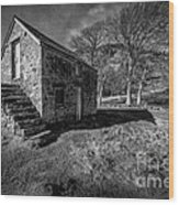 Country Cottage V2 Wood Print