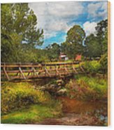 Country - Country Living Wood Print