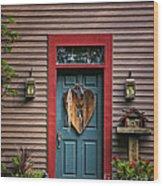 Country Door Wood Print