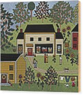 Country Gallery Wood Print