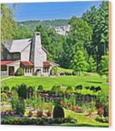 Country Inn Wood Print