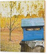 Country Letterbox Wood Print