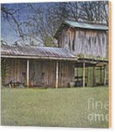 Country Life Wood Print by Betty LaRue