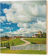 Country Living Painted Wood Print