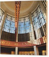 Country Music Hall Of Fame Wood Print