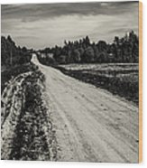 Country Road Take Me Home 1. Wood Print