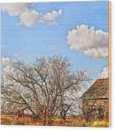 Country Smell Wood Print