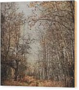 Country Smell Two Wood Print